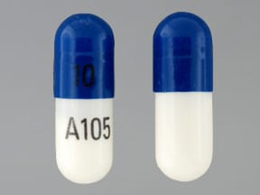 fluoxetine 10 mg capsule