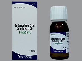 ondansetron HCl 4 mg/5 mL oral solution