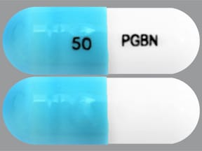 pregabalin 50 mg capsule