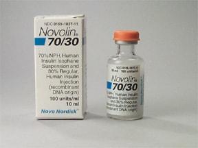 Novolin 70 30 U 100 Insulin Subcutaneous Uses Side