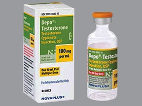 Depo-Testosterone 100 mg/mL intramuscular oil