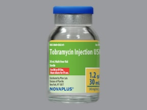 tobramycin 40 mg/mL injection solution