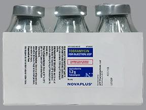 tobramycin 1.2 gram solution for injection