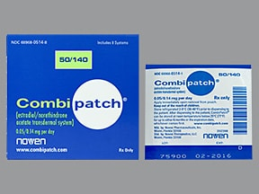 CombiPatch 0.05 mg-0.14 mg/24 hr transdermal