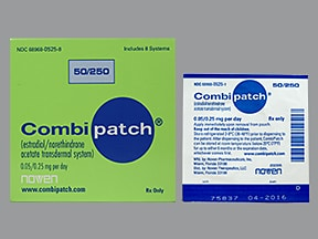 CombiPatch 0.05 mg-0.25 mg/24 hr transdermal