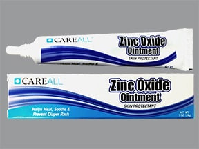 zinc oxide 20 % topical ointment