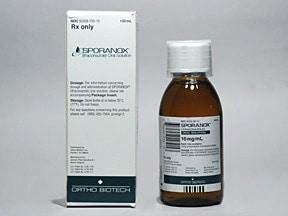 Sporanox 10 mg/mL oral solution