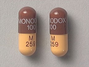 Monodox 100 mg capsule
