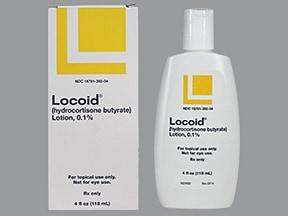 Locoid 0.1 % lotion