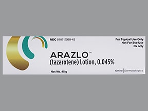 Arazlo 0.045 % lotion