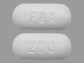Dificid 200 mg tablet
