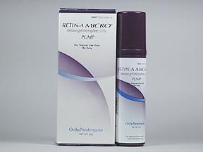 Retin-A Micro Pump 0.1 % topical gel