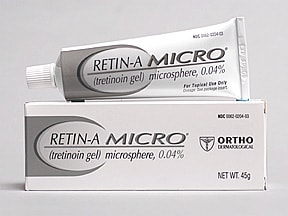 Retin-A Micro 0.04 % topical gel