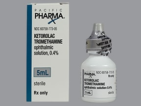 ketorolac 0.4 % eye drops