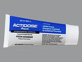 Actidose-Aqua 15 g/72 mL oral suspension