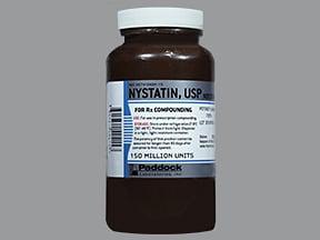 nystatin 150 million unit oral powder