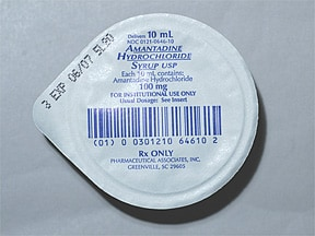 amantadine HCl 50 mg/5 mL oral solution