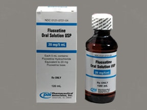 fluoxetine 20 mg/5 mL (4 mg/mL) oral solution