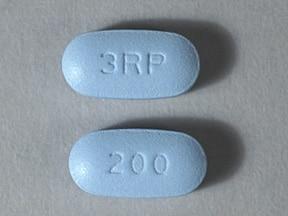 Moderiba 200 mg tablet