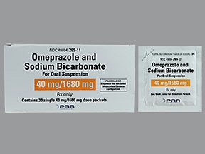 omeprazole 40 mg-sodium bicarbonate 1,680 mg oral packet