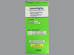 lamotrigine 50 mg (42)-100 mg (14) tablet,disintegrating, pack