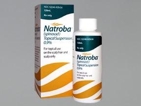 Natroba 0.9 % topical suspension
