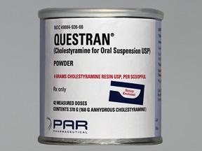 Questran 4 gram oral powder