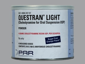 Questran Light 4 gram oral powder
