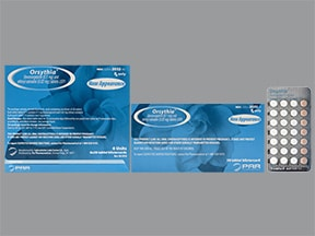 Orsythia 0.1 mg-20 mcg tablet