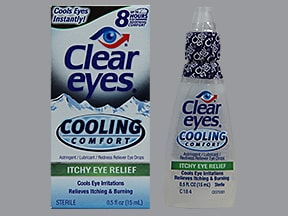 Clear Eyes Itchy Eye Relief 0.012 %-0.25 %-0.25 % drops