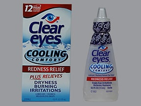 Clear Eyes Cooling Comfort 0.03 %-0.5 % drops