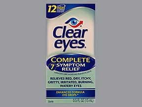 Clear Eyes Complete 0.025 %-0.2 %-0.5 %-0.25 % drops