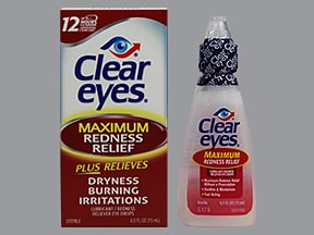 Clear Eyes Maximum Redness Relief 0.03 %-0.5 % drops