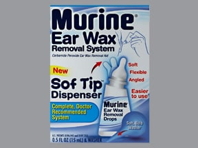 How to use murine ear wax removal drops