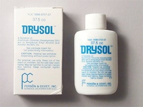 Drysol 20 % topical solution