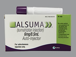 Alsuma 6 mg/0.5 mL subcutaneous pen injector