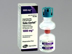 Solu-Cortef Act-O-Vial (PF) 1,000 mg/8 mL solution for injection
