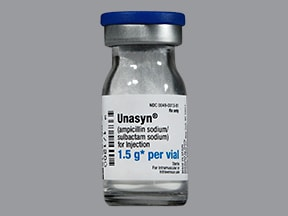 Unasyn 1.5 gram solution for injection