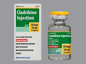 cladribine 10 mg/10 mL intravenous solution