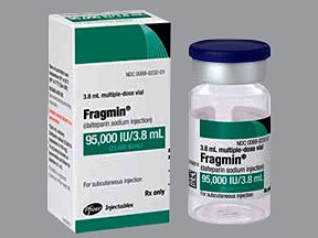 Fragmin 25,000 anti-Xa unit/mL subcutaneous solution