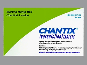 how does varenicline (chantix) work
