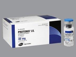 Protonix 40 mg intravenous solution