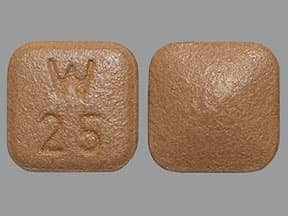 Pristiq 25 mg tablet,extended release