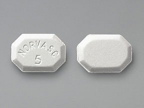 Norvasc 5 mg tablet