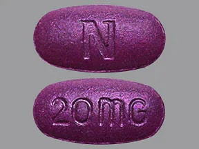 Nexium 24HR 20 mg tablet,delayed release