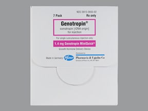 Genotropin MiniQuick 1.4 mg/0.25 mL subcutaneous syringe