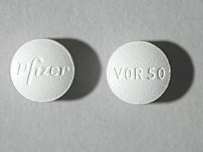 Vfend 50 mg tablet