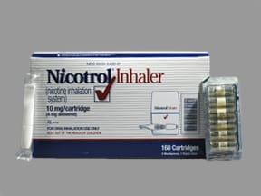 Nicotrol Inhalation : Uses, Side Effects, Interactions, Pictures