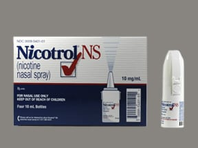 Nicotrol NS 10 mg/mL nasal spray