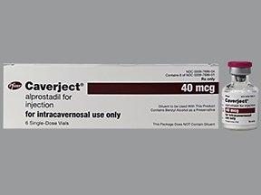 Caverject 40 mcg intracavernosal solution